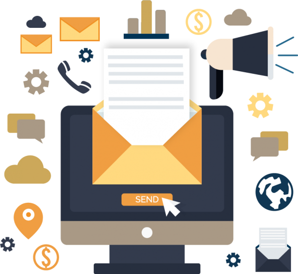 Email Marketing socials